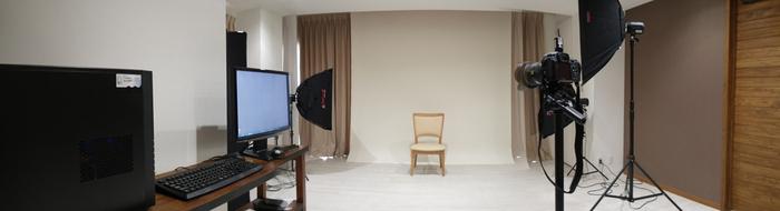 2Fスタジオ内部写真パノラマ