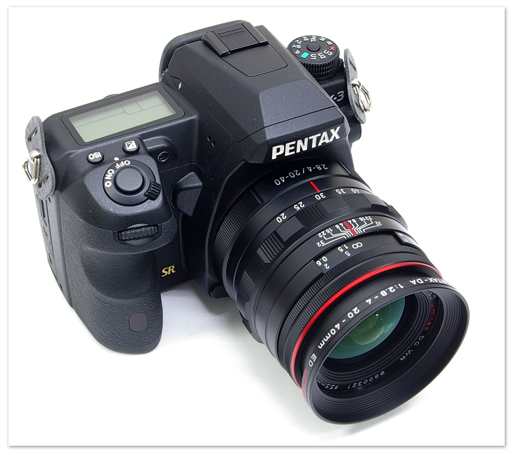 HD PENTAX-DA 20-40mm F2.8-4 ED Limited DC WR的preview(有和 K-3的合照)