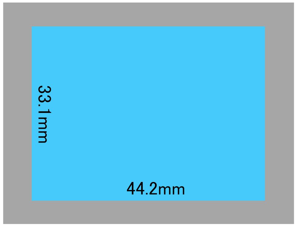 PhaseOne P30+のセンサーサイズ