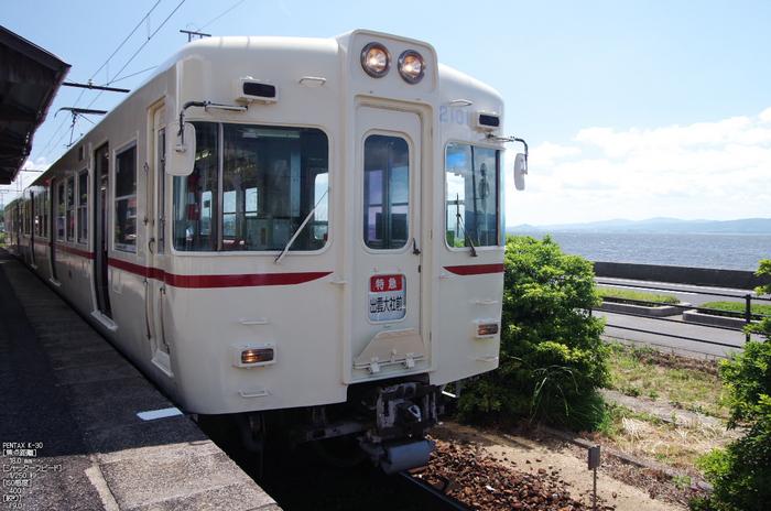 一畑電車_2100系車両京王電鉄カラー_2012_yaotomi_8.jpg