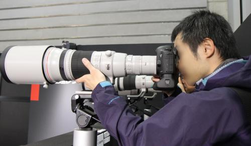 キヤノン EF 500mm F4L IS II USM Canon