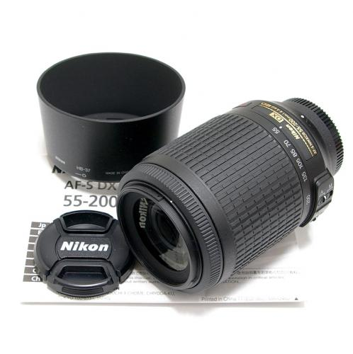 中古 ニコン AF-S DX Nikkor 55-200mm F4-5.6G VR IF-ED Nikon / ニッコール