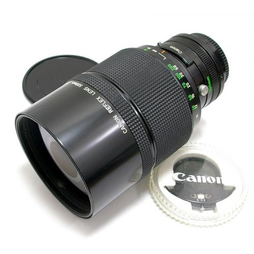 中古 キャノン New FD REFLEX 500mm F8 Canon