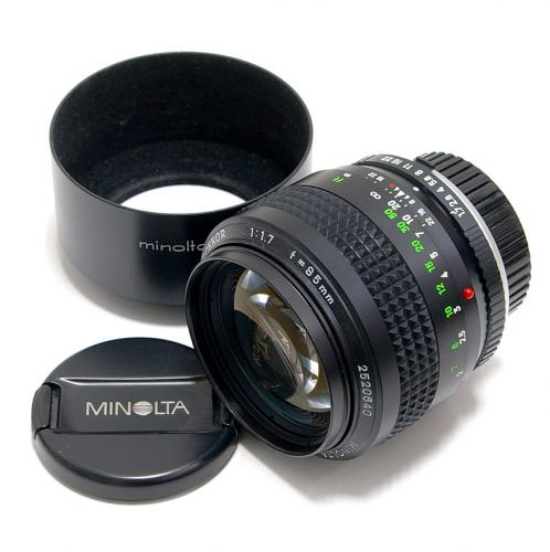 中古 ミノルタ MC ROKKOR 85mm F1.7 minolta