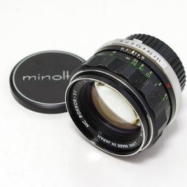 中古 ミノルタ MC ROKKOR 58mm F1.4 minolta
