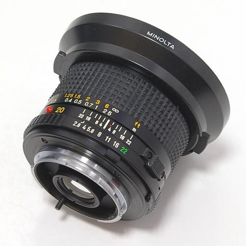 中古 ミノルタ New MD 20mm F2.8 MINOLTA