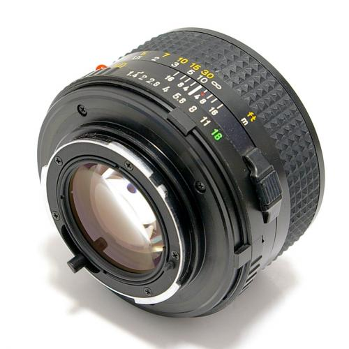 中古 ミノルタ New MD 50mm F1.4 MINOLTA