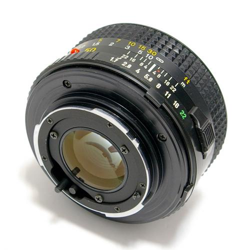 中古 ミノルタ New MD 50mm F1.7 MINOLTA