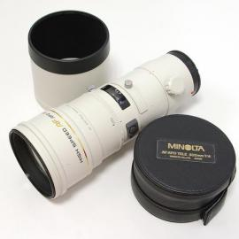 中古 ミノルタ AF APO 300mm F4G HIGH-SPEED MINOLTA