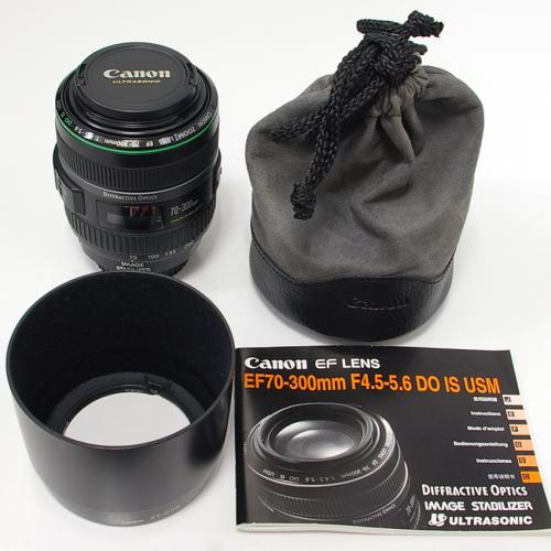 中古 キャノン EF 70-300mm F4.5-5.6 DO IS USM Canon