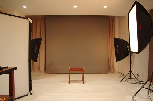 スタジオ内部写真