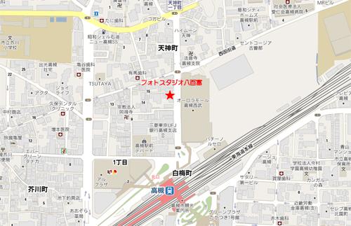 高槻駅前店地図