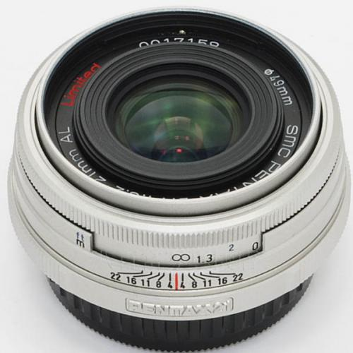 中古レンズ SMC ペンタックス DA 21mm F3.2 AL Limited Silver PENTAX 16750
