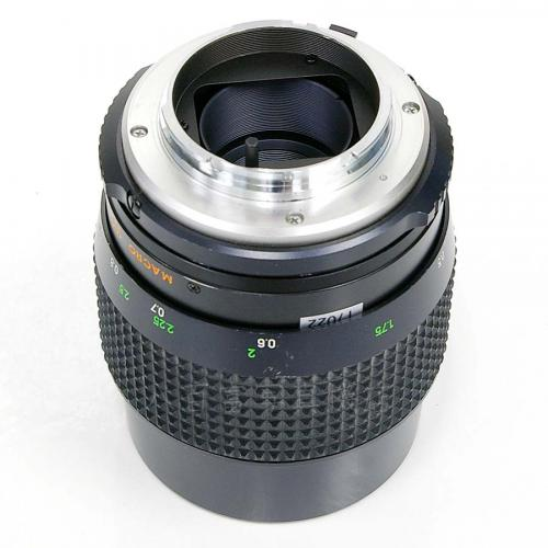 中古レンズ ミノルタ MC MACRO ROKKOR 100mm F3.5 minolta 17022
