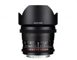 サムヤン 10mm T3.1 VDSLR  ED AS NCS CS II [ニコン用] SAMYANG