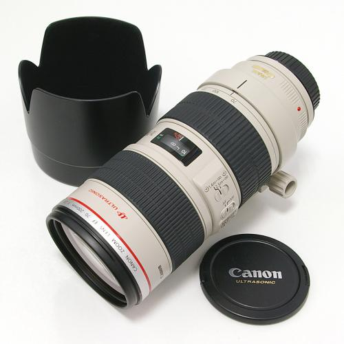 中古 キャノン EF 70-200mm F2.8L IS USM Canon
