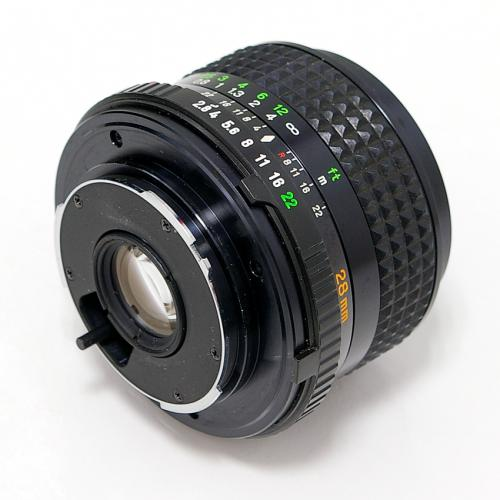 中古 ミノルタ MD ROKKOR 28mm F2.8 minolta