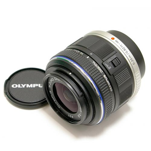 中古 オリンパス M.ZUIKO DIGITAL 14-42mm F3.5-5.6II MSC ブラック OLYMPUS