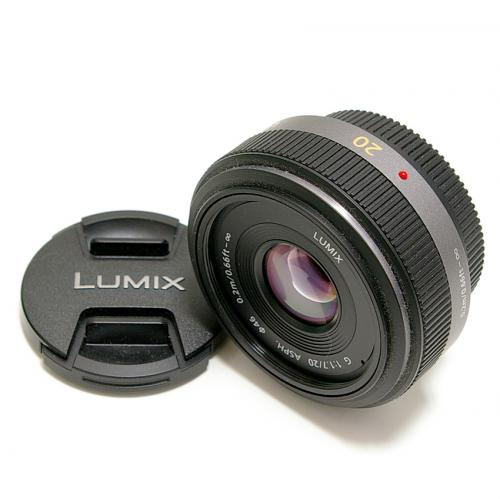 中古 パナソニック LUMIX G 20mm F1.7 ASPH. Panasonic