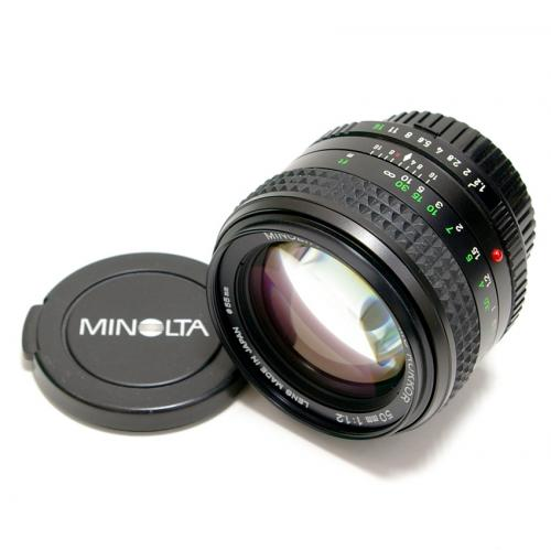 中古 ミノルタ MD ROKKOR 50mm F1.2 minolta