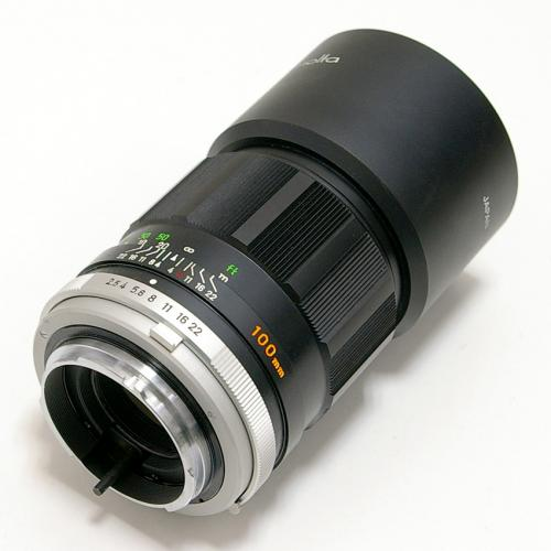 中古 ミノルタ MC ROKKOR 100mm F2.5 minolta