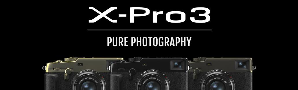富士フィルムX-PRO3