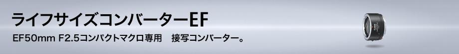 ライフサイズコンバーターEF(EF50mm F2.5コンパクトマクロ専用)
