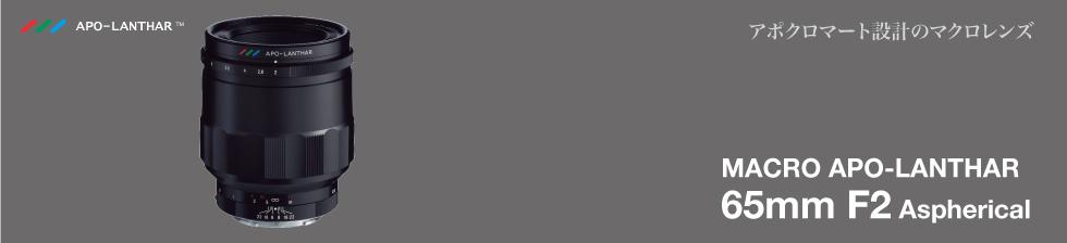 フォクトレンダー Voigtlander マクロ MACRO アポランター APO-LANTHAR 65mm F2 Aspherical 〔ソニーEマウント用〕