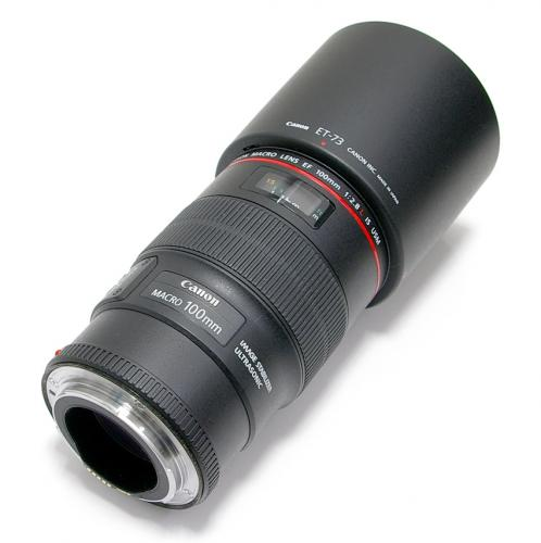中古 キャノン EF 100mm F2.8L MACRO IS USM Canon