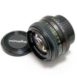 中古 ミノルタ MD ROKKOR 50mm F1.4 minolta