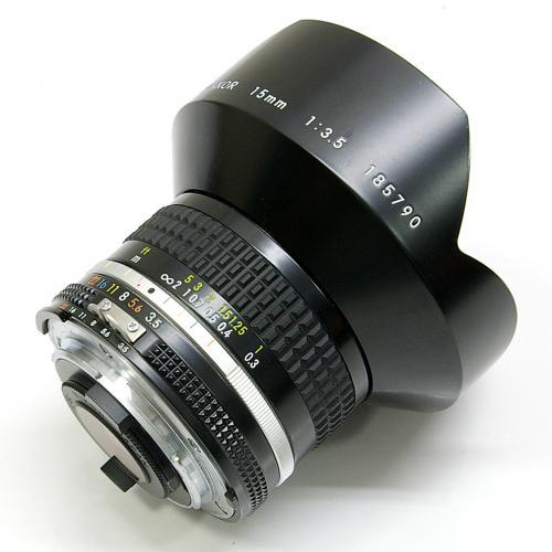 中古 ニコン ai nikkor 15mm f3 5s nikon ニッコール 中古レンズ