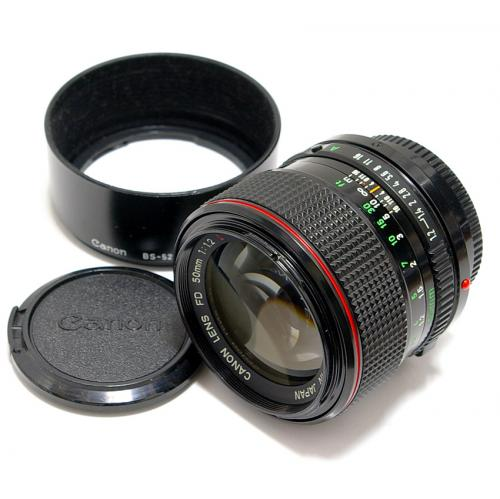 中古 キャノン New FD 50mm F1.2L Canon