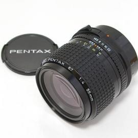 中古 SMCペンタックス67 55mm F4 NEW PENTAX