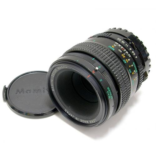 中古 マミヤ SEKOR C MACRO 80mm F4 New 645用 Mamiya