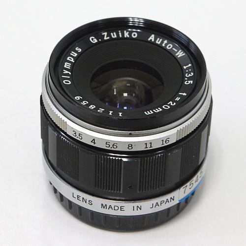 中古 オリンパス G.Zuiko 20mm F3.5 OLYMPUS PEN