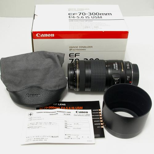 中古 キャノン EF 70-300mm F4-5.6 IS USM Canon