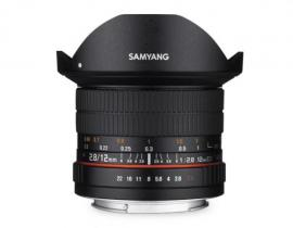 サムヤン 12mm F2.8 ED AS NCS Fish-eye [ニコン AE用] SAMYANG