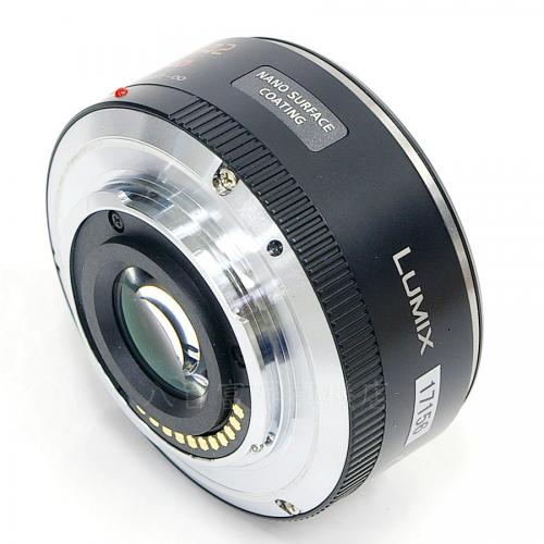 中古レンズ パナソニック LUMIX G X VARIO PZ 14-42mm F3.5-5.6 ASPH. POWER O.I.S. ブラック Pananonic 17156