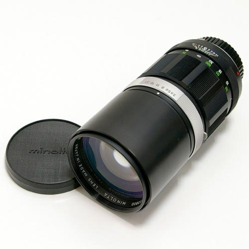 中古 ミノルタ MC ROKKOR 200mm F3.5 minolta