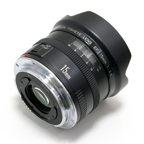 中古 キャノン EF 15mm F2.8 FISH EYE Canon